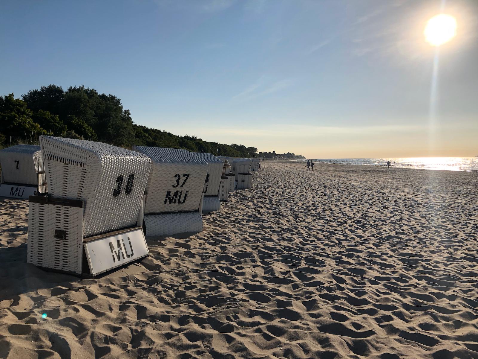 Strandkörbe in Kühlungsborn