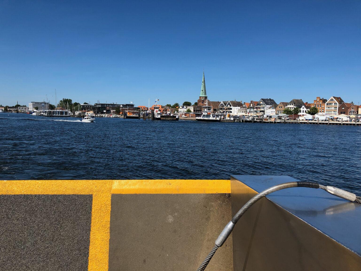 Überfahrt mit der Fähre nach Lübeck