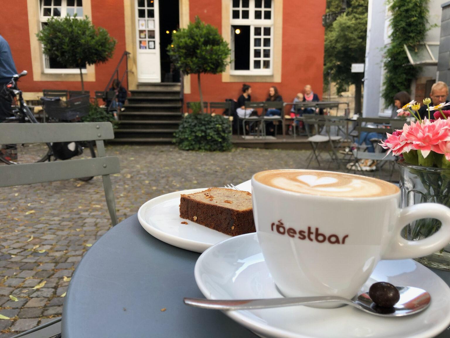 """Frühstück in der """"roestbar"""" in Münster"""