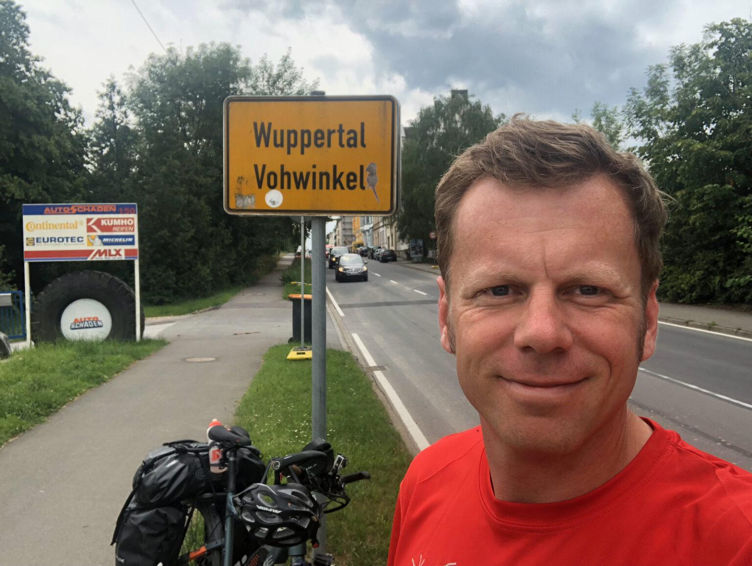 Ankunft in Wuppertal