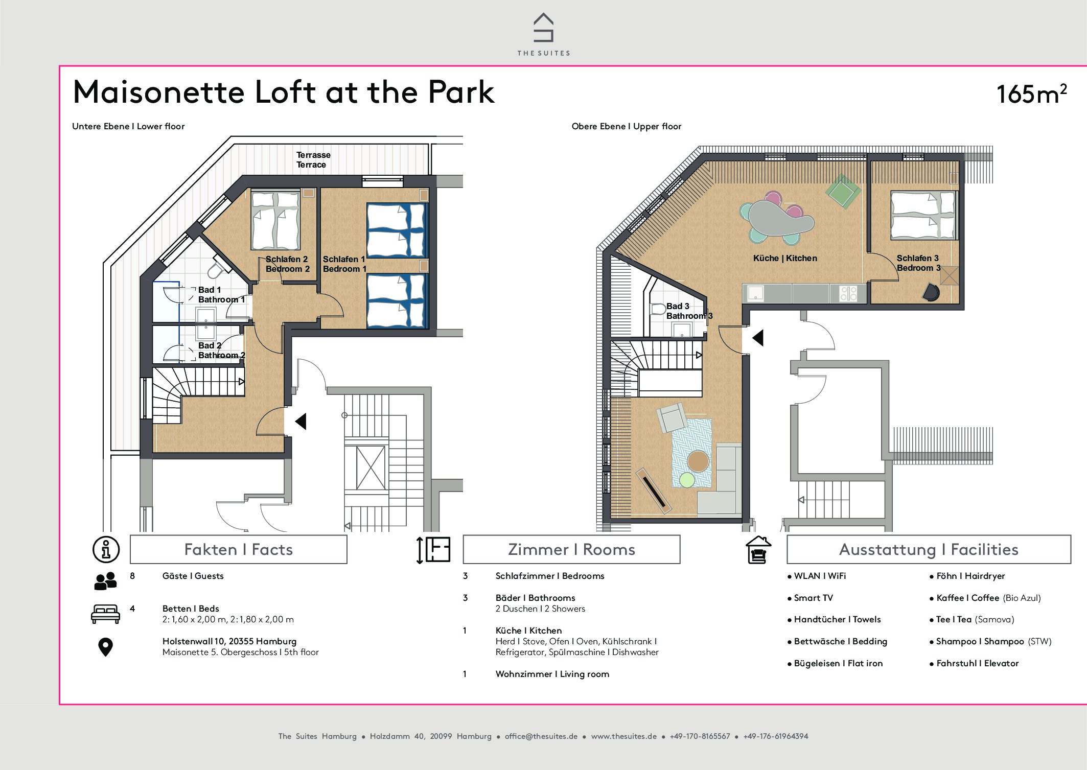THE SUITES – Lofts at the Park