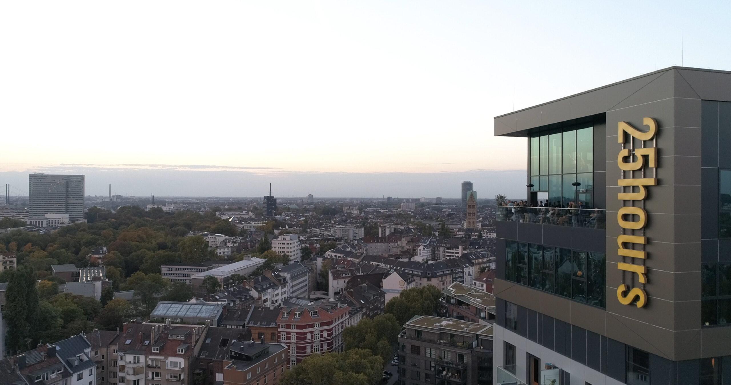 25hours Hotel Düsseldorf Das Tour