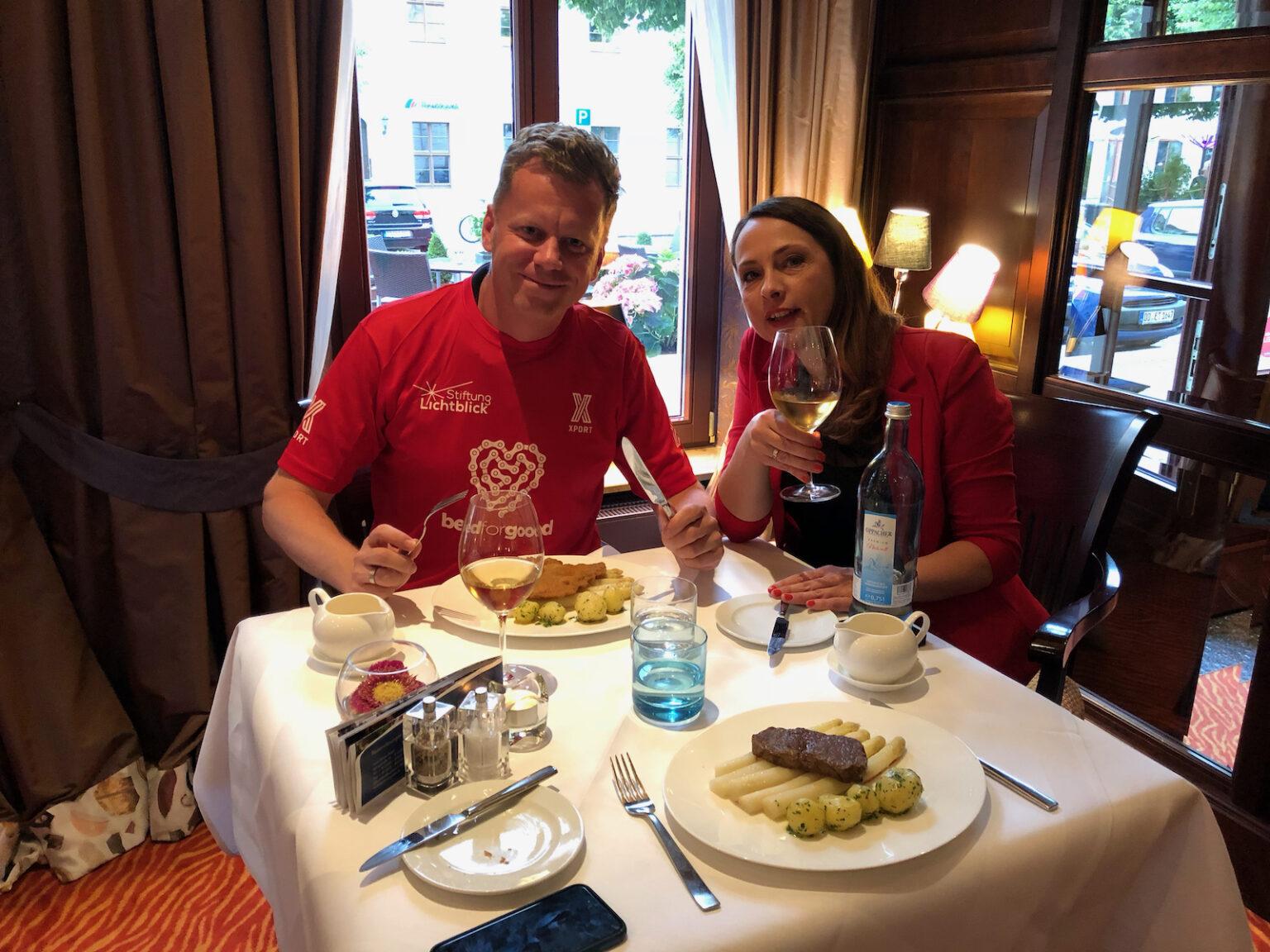 Abendessen im Bülow Palais