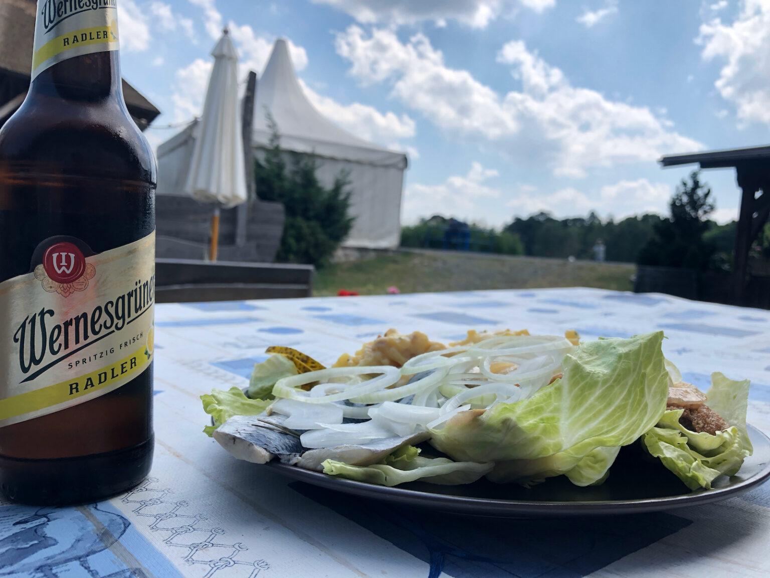 Essen in der Teichwirtschaft Schönfeld