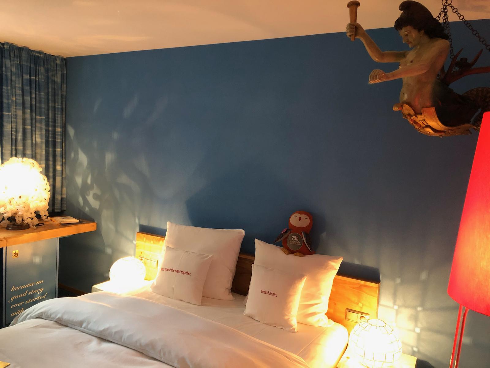 Mein Zimmer im 25hours Hotel The Goldman